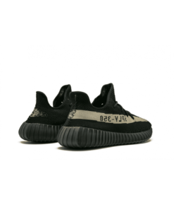 Yeezy Boost 350 V2 Black Green  Sneaker For Sale - 4