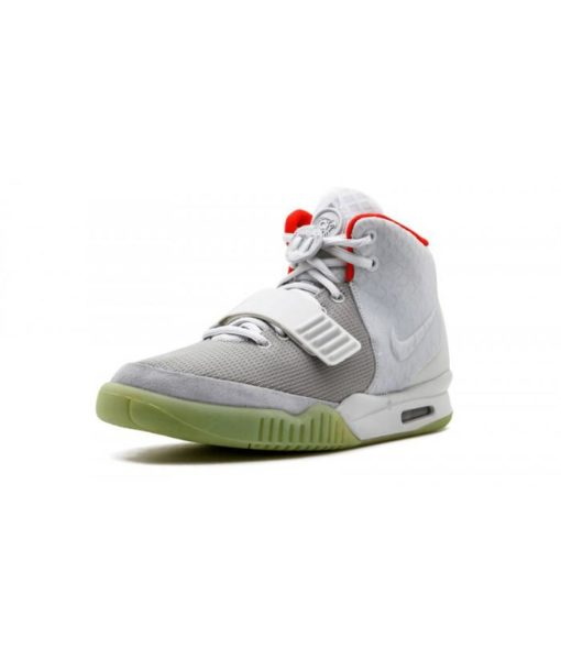 Nike Air Yeezy 2 Nrg Shoes Pure Platinum  For Sale - 2