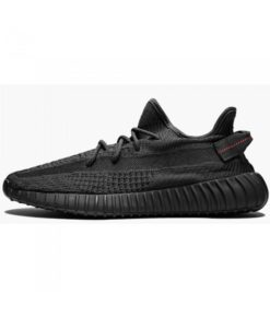 AAA Fake Yeezy Boost 350 V2 Black - Static  On Sale - 1