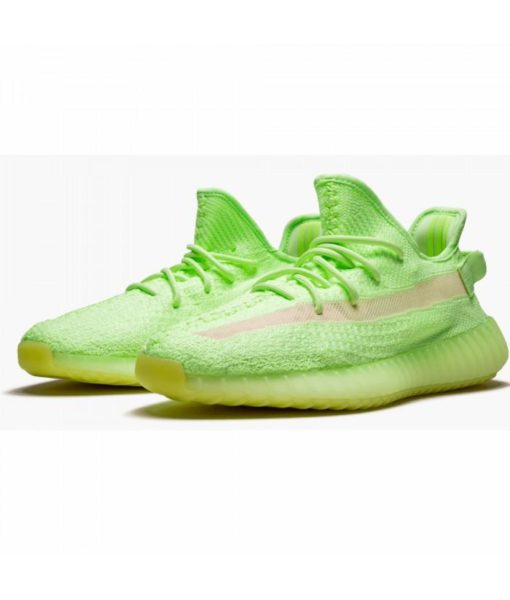 Best Yeezy Boost 350 V2 Glow in the Dark  - EG5293 - 3